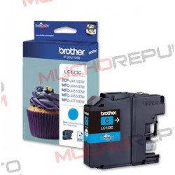 TINTA INK-JET COMPAT. BROTHER LC121XL/LC123XL C