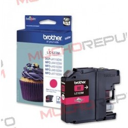 TINTA INK-JET COMPAT. BROTHER LC121XL/LC123XL M