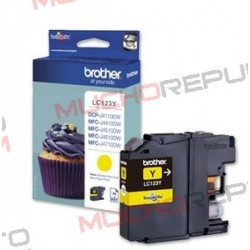 TINTA INK-JET COMPAT. BROTHER LC121XL/LC123XL Y