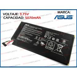 "BATERIA TABLET ASUS K001/ME301T 10.1"" 3.75V 19Wh 5070mAh"