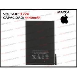 BATERIA TABLET IPAD Mini 1 3.72V 4440mAh (A1432 / A1454 / A1455)