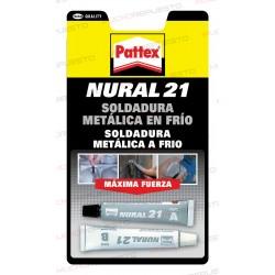 SOLDADURA METALICA EN FRIO NURAL21 PATTEX (REPARACION COVERS Y BISAGRAS)