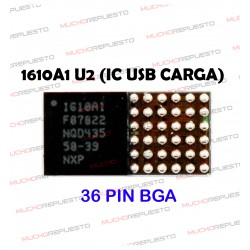 CHIP 1610A1 U2 USB IC (CARGA) IPHONE 5C/5S/iPad Mini 2/Air (36PIN BGA)