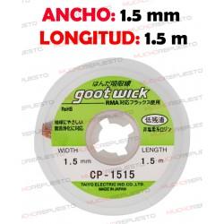 CINTA DESOLDADORA GOOT WICK CP-1515 (1.5mm x 1.5m)