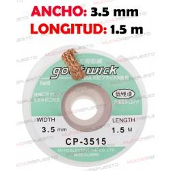 CINTA DESOLDADORA GOOT WICK CP-3515 (3.5mm x 1.5m)