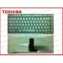 TECLADO TOSHIBA A200/A300/L300/L305 PLATA