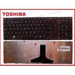 TECLADO TOSHIBA A660/A665 SERIES NEGRO (Con Marco)