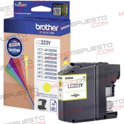 TINTA INK-JET COMPAT. BROTHER LC223XL/LC225XL Y