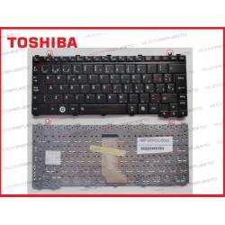TECLADO TOSHIBA A600/A605/E200/E205/T110/T110D/T115/T131/T135/T135D NEGRO