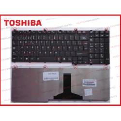 TECLADO TOSHIBA A500/L350/L500/P300/P500 NEGRO (MATE)