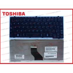 TECLADO TOSHIBA NB200/NB205/NB250/NB255/NB300/NB500/NB505/NB510 NEGRO
