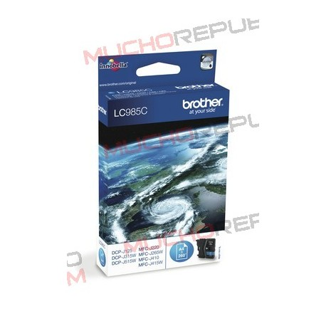 TINTA INK-JET COMPAT. BROTHER LC985XL C