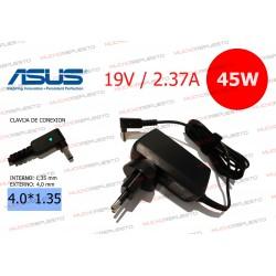 CARGADOR ORIGINAL ASUS 19V 2.37A 45W 4.0*1.35