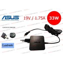 CARGADOR ORIGINAL ASUS 19V 1.75A 33W CONECTOR TIPO USB CUADRADO