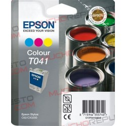 TINTA INK-JET COMPAT. EPSON T041 COLOR