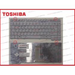 TECLADO TOSHIBA A200/A300/L300/L305 BLANCO-GRIS