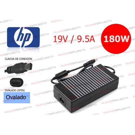 CARGADOR ORIGINAL HP 19V 9.5A 180W PIN OVALADO