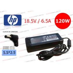 CARGADOR ORIGINAL HP 18.5V 6.5A 120W 5.5*2.5