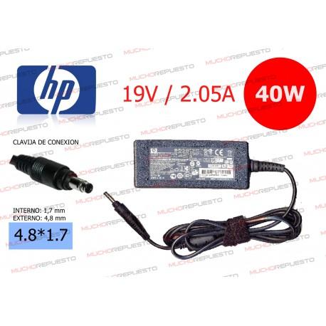 CARGADOR ORIGINAL HP 19.5V 2.05A 40W 4.0*1.7 BULLET TIP
