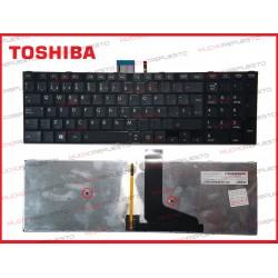 TECLADO TOSHIBA L50-A/L50D-A/L50T-A/L55-A/L55D-A/L55T-A NEGRO ILUMINADO