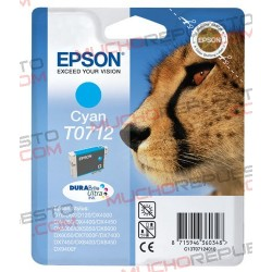 TINTA INK-JET COMPAT. EPSON T0712 CYAN