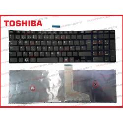 TECLADO TOSHIBA C50-A/C50D-A/C50T-A/C55-A/C55D-A/C55T-A/C55DT-A (Mod. 2)