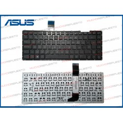 TECLADO ASUS K450 / X450 Series (MODELO CABLE FLEX LARGO)