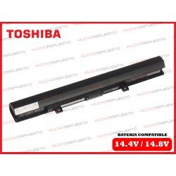 BATERIA TOSHIBA 14.4V-14.8V C50-B/C50D-B/C50DT-B/C50T-B NEGRA