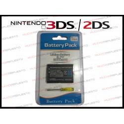 BATERIA NINTENDO 3DS / 2DS 3.7V 2000mAh GENCA-028