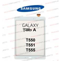 CRISTAL+TACTIL TABLET SAMSUNG Galaxy TAB A T550 / T551 / T555 BLANCA