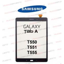 CRISTAL+TACTIL TABLET SAMSUNG Galaxy TAB A T550 / T551 / T555 NEGRA