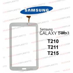 """CRISTAL+TACTIL TABLET SAMSUNG Galaxy TAB3 T210/T211/T215 7"""" BLANCA"""