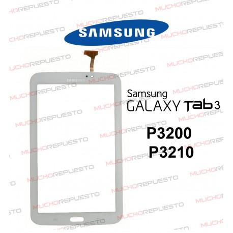 "CRISTAL+TACTIL TABLET SAMSUNG Galaxy TAB3 P3200/P3210 7"" BLANCA"