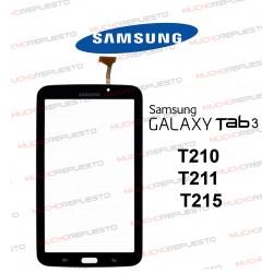 """CRISTAL+TACTIL TABLET SAMSUNG Galaxy TAB3 T210/T211/T215 7"""" NEGRA"""