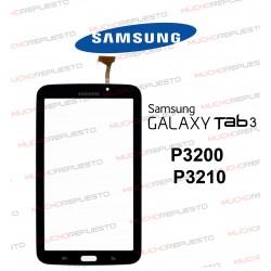 "CRISTAL+TACTIL TABLET SAMSUNG Galaxy TAB3 P3200/P3210 7"" NEGRA"