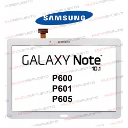 "CRISTAL+TACTIL TABLET SAMSUNG Galaxy NOTE P600/P601/P605 10.1"" BLANCA"