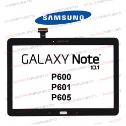 "CRISTAL+TACTIL TABLET SAMSUNG Galaxy NOTE P600/P601/P605 10.1"" NEGRA"