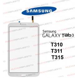"""CRISTAL+TACTIL TABLET SAMSUNG Galaxy TAB3 T310/T311/T315 8"""" BLANCA"""