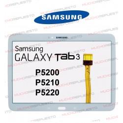 "CRISTAL+TACTIL TABLET SAMSUNG Galaxy TAB3 P5200/P5210/P5220 10,1"" BLANCA"