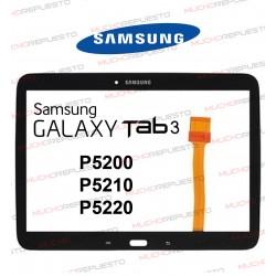 "CRISTAL+TACTIL TABLET SAMSUNG Galaxy TAB3 P5200/P5210/P5220 10,1"" NEGRA"