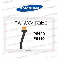 """CRISTAL+TACTIL TABLET SAMSUNG P5100/P5110 10,1"""" BLANCO (Flex Espresso 10 REV. 1, 2 y 3)"""