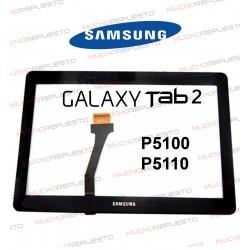 "CRISTAL+TACTIL TABLET SAMSUNG Galaxy TAB2 P5100/P5110 10,1"" NEGRO"