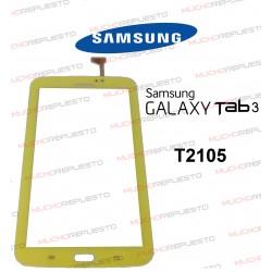 "CRISTAL+TACTIL TABLET SAMSUNG Galaxy TAB3 T2105 7"" AMARILLA"