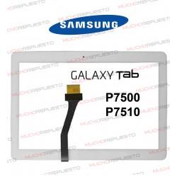 "CRISTAL+TACTIL TABLET SAMSUNG Galaxy TAB P7500/P7510 10,1"" BLANCA"