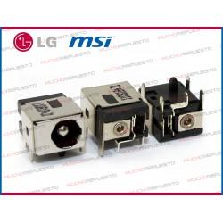 CONECTOR ALIMENTACION MSI GX600/GX620/GX633/GX640/GX700/GX710/GX720/GX730 /LG E500