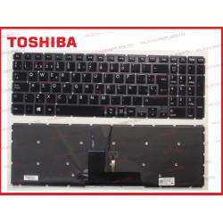 TECLADO TOSHIBA L55-B/L55D-B/L55DT-B/L55T-B (Sin Marco) ILUMINADO
