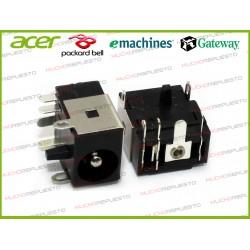 CONECTOR ALIMENTACION PACKARD BELL C3205 / C3227 / C3255 / C3265 / C3300 / C3302