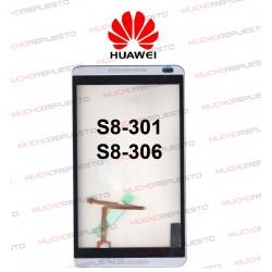 """CRISTAL+TACTIL HUAWEI MediaPad S8-301/S8-301L/S8-301U/S8-306L 8"""""""