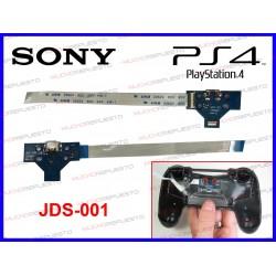 CONTROLADOR USB DE CARGA PS4 JDS-001 PLACA AZUL 1