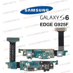 CABLE FLEX CONECTOR MICRO USB + BOTONES + JACK SAMSUNG GALAXY S6 EDGE G925F